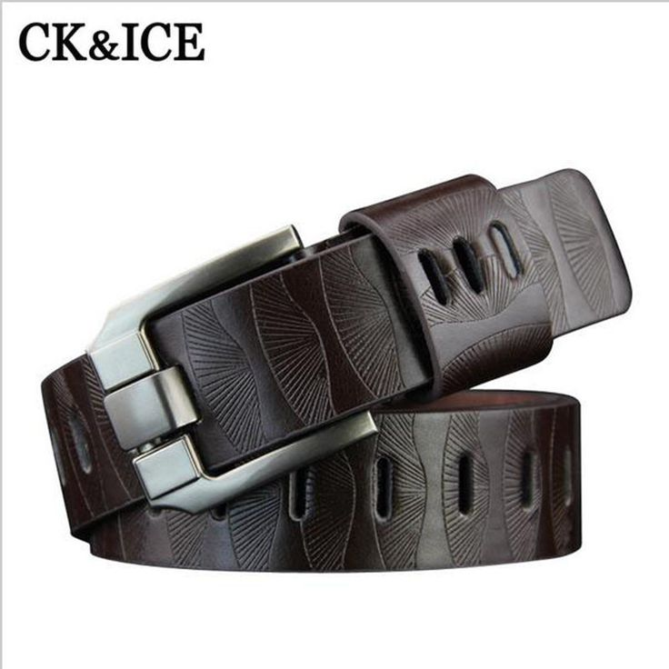 2017 New Belt Men PU Leather Luxury Strap Male Belts For Men High Quality Business Leisure pin Buckle Jeans Ceinture Homme #Affiliate