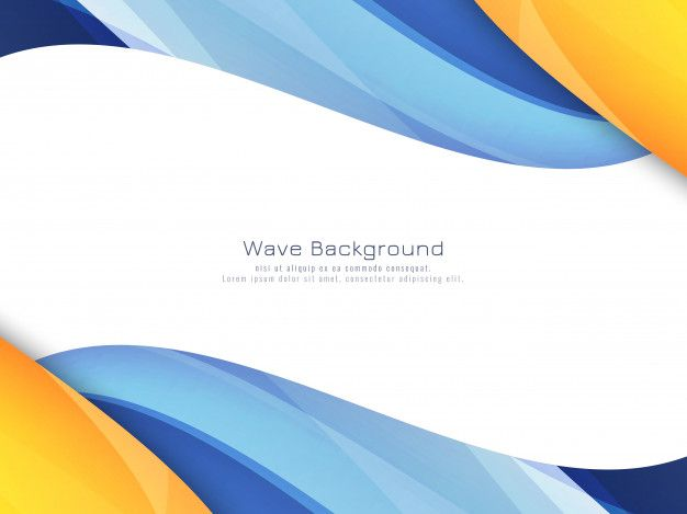 Download Abstract Bright Colorful Wavy Background For Free In 2020