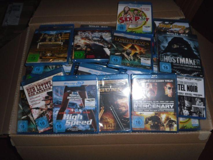 "10  Blu Ray Filme + 1  ( 3D Blu Ray )           ""OVP/NEU"""