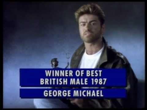 George Michael wins British Male presented by Noel Edmonds | BRIT Awards...
