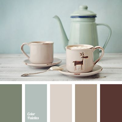 """""""dusty"""" green, beige, contrasting colors, cream, dark green, germs color, green, greens color, light green, pale green, pastel green, shades of beige, shades of green, tranquil shades of green."""
