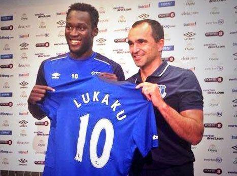 Romelu Lukaku in Everton for 34M€