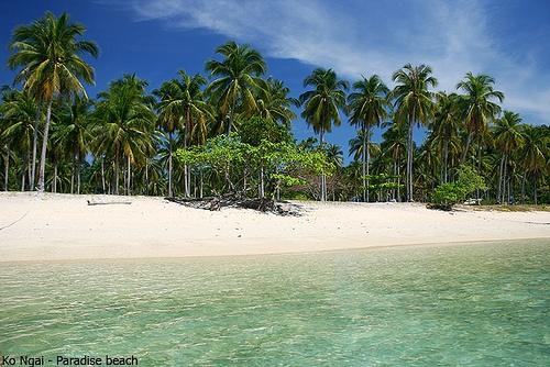 Thailand, Ko Ngai    live out the Robinson Crusoe deserted-island fantasy