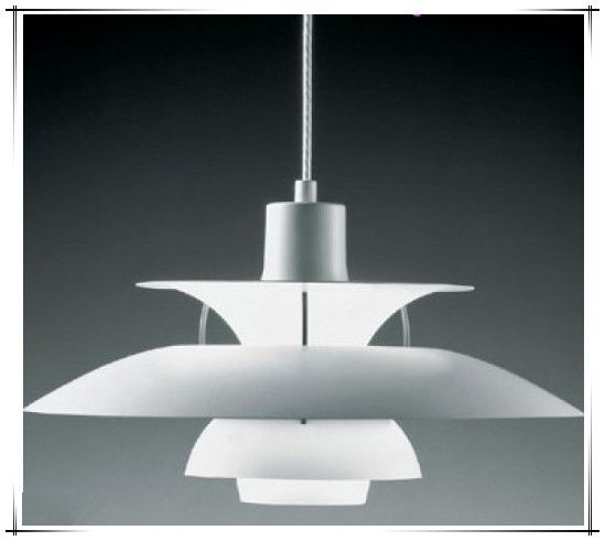 Современный люстра современный пол хеннингсен PH5 кулон лампа LouiPoulsen подвеска лампа люстра