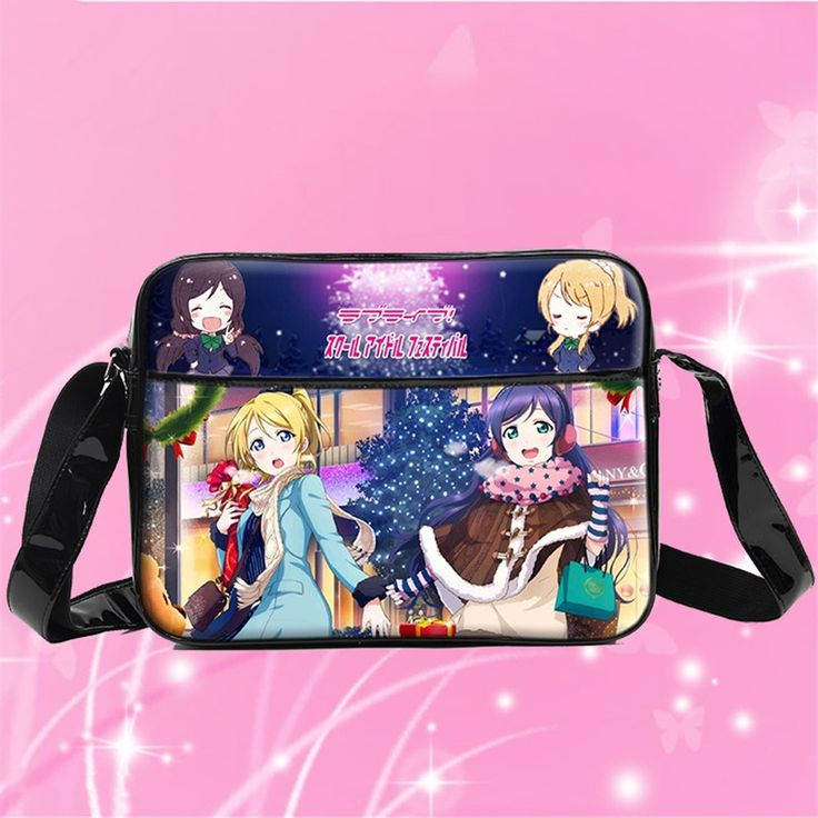 23.92$  Buy now - http://aliyqs.shopchina.info/go.php?t=32629963795 - New Japan Anime Love Live Cosplay Bag Women Girls Students Shoulder Book Bag PU Waterproof Messenger Bags 23.92$ #buyininternet