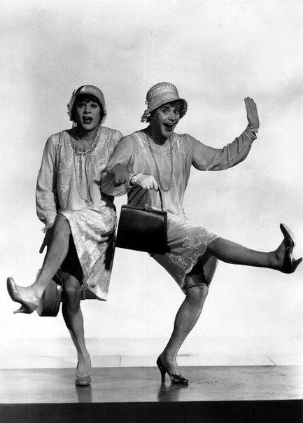 """""""В джазе только девушки"""" - Тони Кертис и Джек Леммон:"""