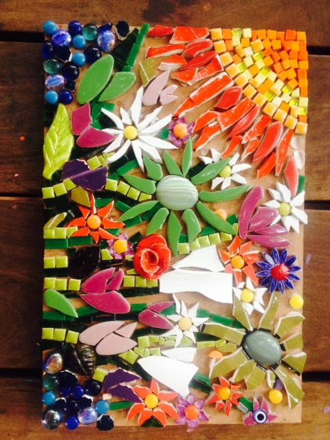 Mosaic home made : )