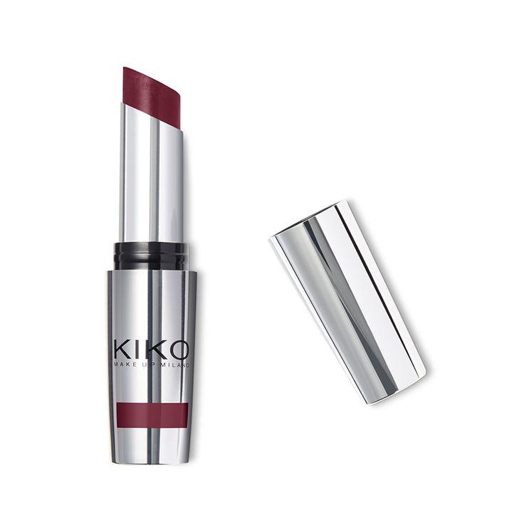 """Koop voor een perfecte, lang houdende make-up voor de lippen on-line de nieuwe no transfer lippenstift van KIKO """"Unlimited Stylo"""". 14 kleuren lippenstift van KIKO met heldere kleuren en een crèmige textuur."""