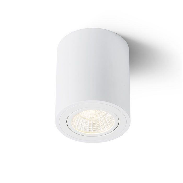 MAYO RD | rendl light studio | Cylindrical surface mounted spotlight with a directional 9W COB LED light source. Supplied with a driver. #lights #interior #office #LED