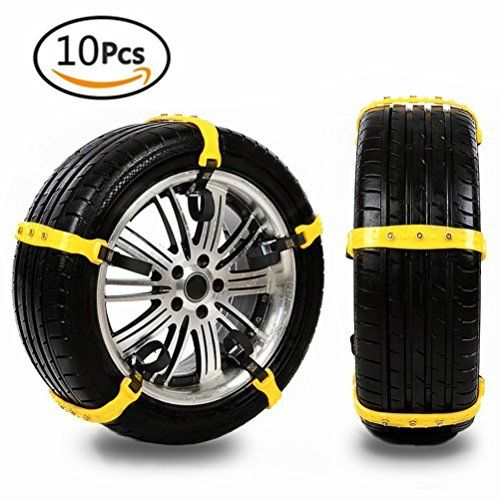 Anti Slip Snow Chains of Car,Adjustable Tire Emergency Thickening Anti Skid Chain Tire Chains of Car,Fit for Most Car/SUV/Truck,10 Pcs. For product info go to:  https://www.caraccessoriesonlinemarket.com/anti-slip-snow-chains-of-caradjustable-tire-emergency-thickening-anti-skid-chain-tire-chains-of-carfit-for-most-car-suv-truck10-pcs/