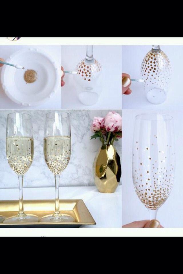 Best 25 Glitter glasses ideas on Pinterest
