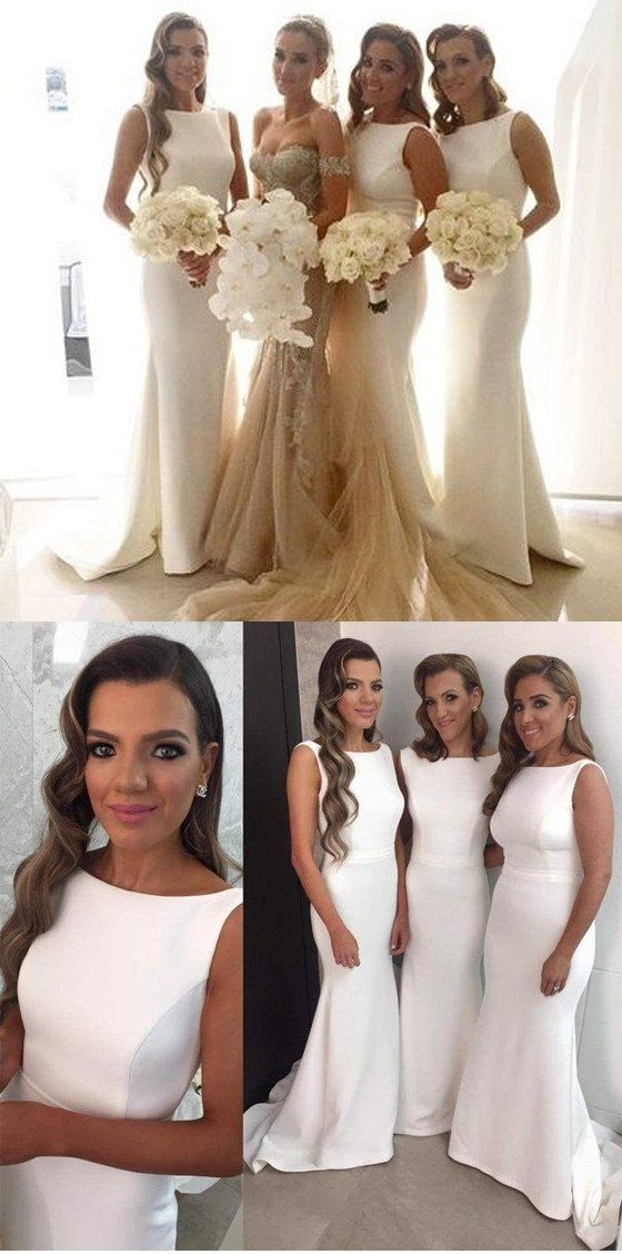 Mermaid White Elegant Long Wedding Party Bridesmaid Dresses sold by lovingdress. Shop more products from lovingdress on Storenvy, the home of independent small businesses all over the world.