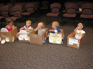 """Tots and parents make tot cars and go to a """"drive-in movie"""" at the library: Driving In Movie, Program Ideas, For Kids, Libraries Fun, Libraries Program, Children Program, Toddlers Driving In, Kids Libraries, Special Events"""