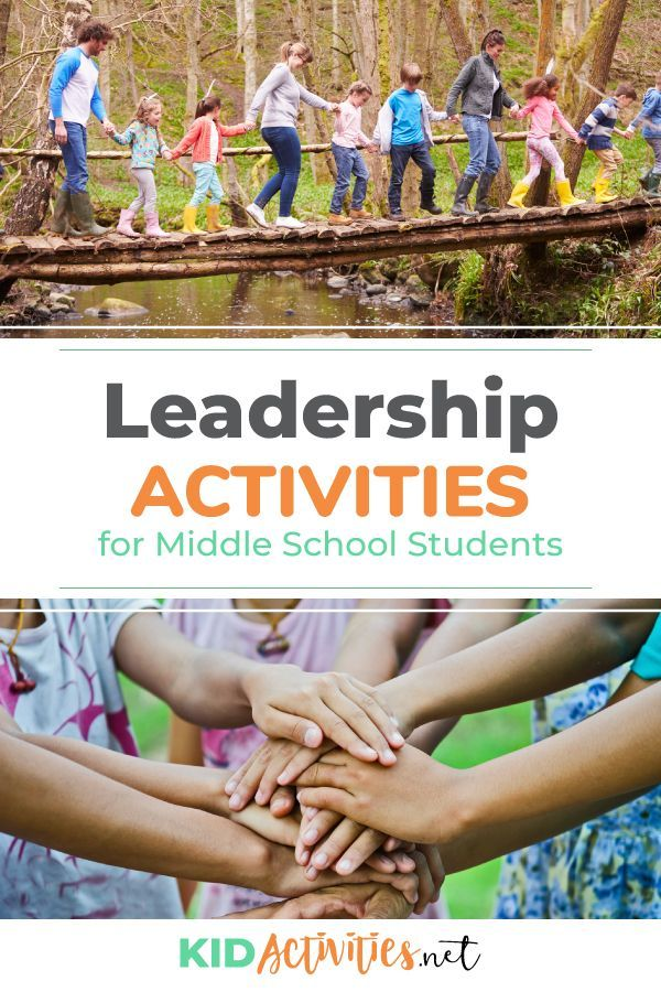Leadership Games and Activities for Middle School Students