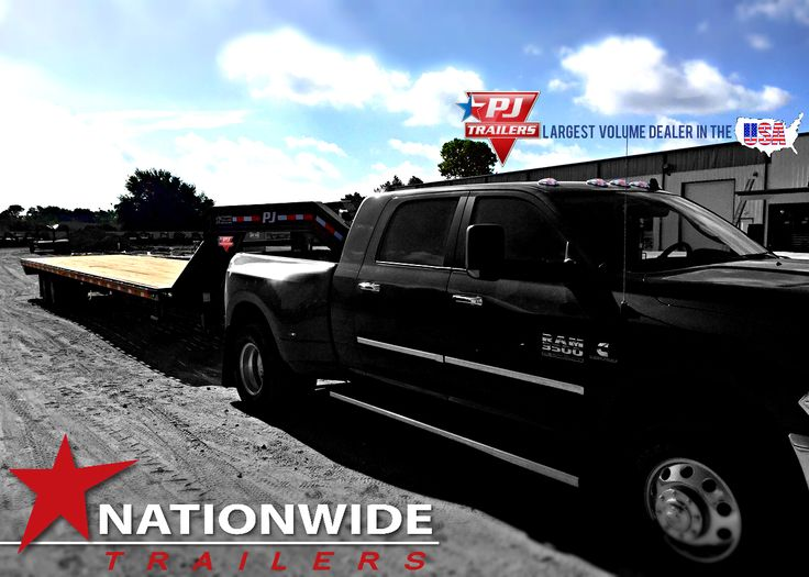 PJ Trailer - 12K w/ Hydraulic Brakes and slide track.