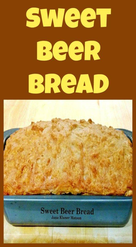 Sweet Beer Bread using self-rising flour. A VERY easy ...