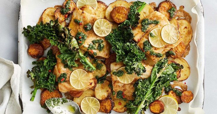 Create a new weeknight favourite with this Thai-inspired fish and potato tray bake.