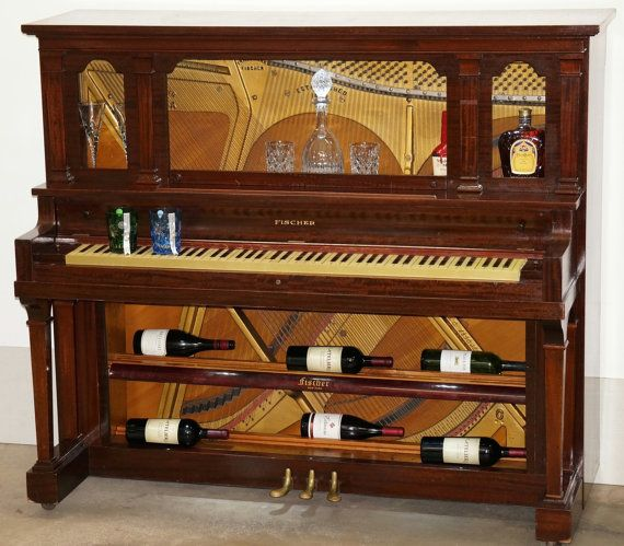 Hey, I found this really awesome Etsy listing at https://www.etsy.com/listing/205325476/repurposed-piano-bar