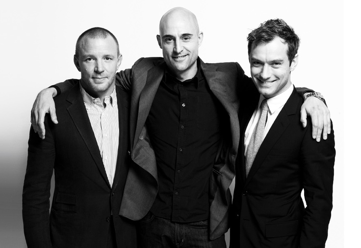 Guy Ritchie, Mark Strong, Jude Law