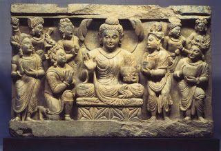Offering of the Four Bowls Gandhara Archives Kurita
