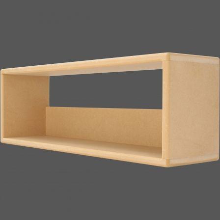 Icube Dvd50 Dvd Storage Rack Mdf Wood