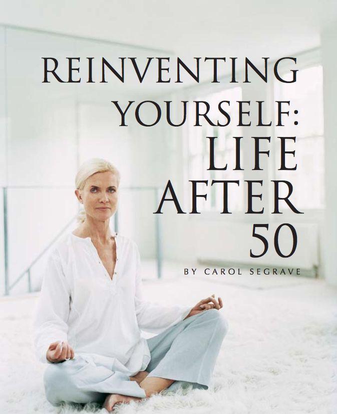 Reinventing Yourself: Life After 50- ageindifferent