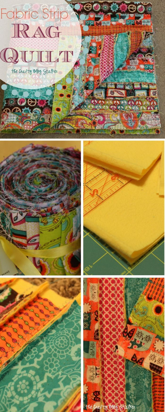 Quilt Patterns Using Strips Of Fabric : Best 25+ Strip rag quilts ideas on Pinterest Rag quilt, Flannel rag quilts and Quit baby