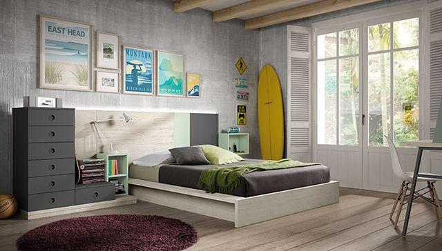 No querrás ser como Peter Pan. Crecer y tener una habitación así, ¡es todo un lujo!