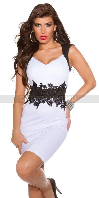 Alkalmi ruha K18536 - fehér