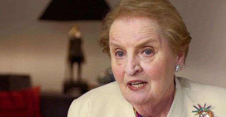 There's a 'Special Place in Hell' for Madeleine Albright. Here's Why