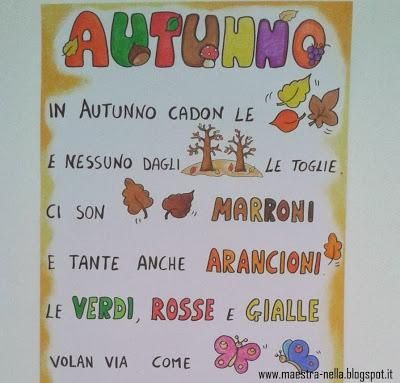 Autunno - poesia illustrata