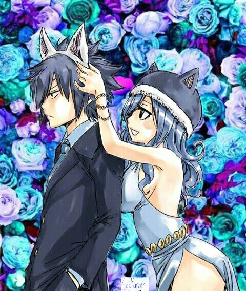 This is so cute! My OTP! Gruvia!!! | anime: Fairy Tail | Pinterest: sxrxiii