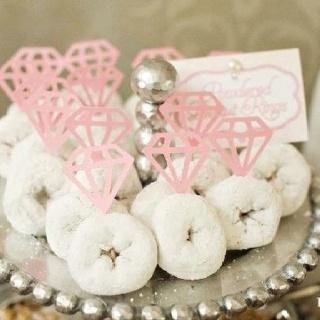 Donut rings for wedding