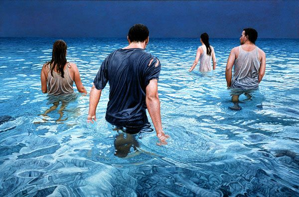 Mark Cross Realist Painter