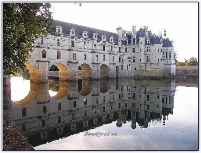 Chenonceau (Kale) Şatosu'nun Tarihi ve Mimarisi (Fransa) - Forum Gerçek