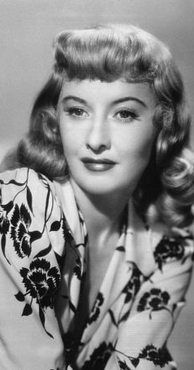 Today Barbara Stanwyck is remembered primarily as the matriarch of the family known as the Barkleys on the TV western The Big Valley (1965), wherein ...