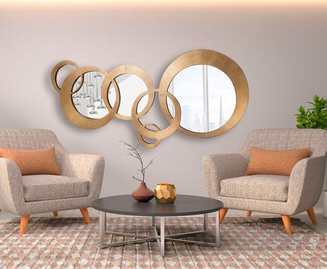 espejos decorativos, espejos de cristal, espejos redondos, espejos dis-arte, espejos schuller, espejos artisticos, espejos de diseño, espejos para comedor