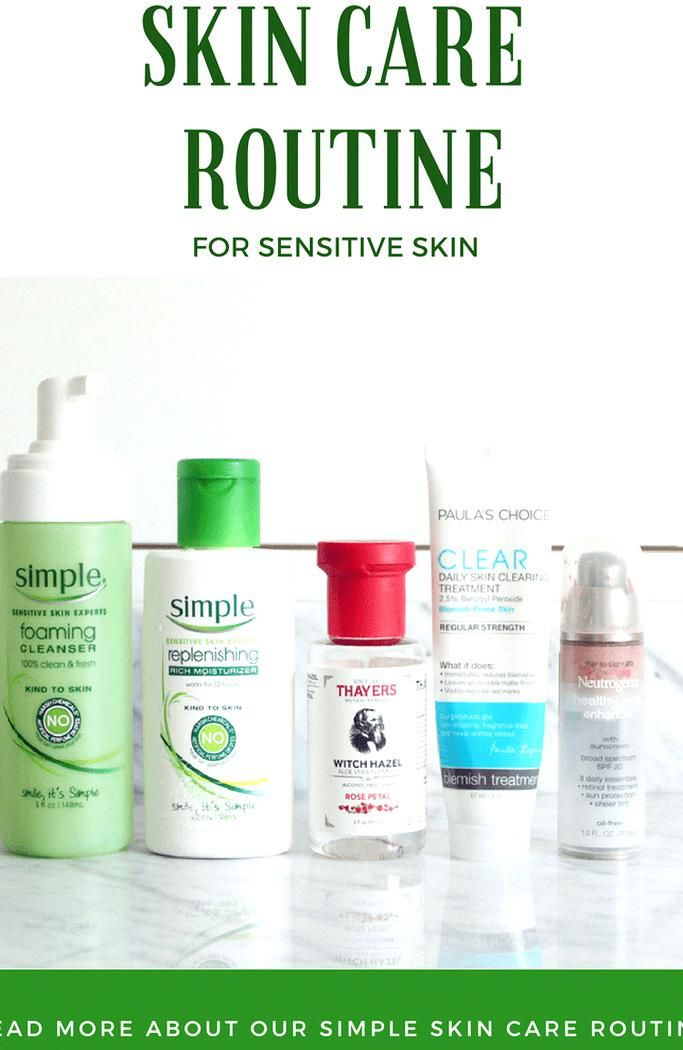 An Easy Affordable Skin Care Routine For Sensitive Skin Beauty Routine Clean Skinc Affordable Skin Care Routine Sensitive Skin Face Wash Skin Care Routine