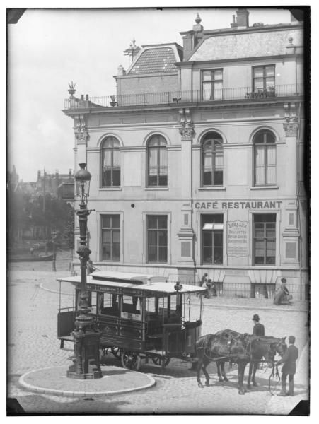 Amstel 29, Waterlooplein 109, Amsterdam,1890