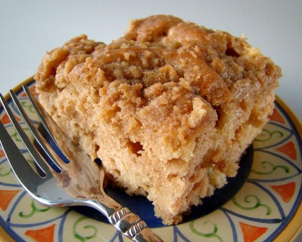 Apple Coffee Cake With Crumble Topping Recipe - Food.com - 344681