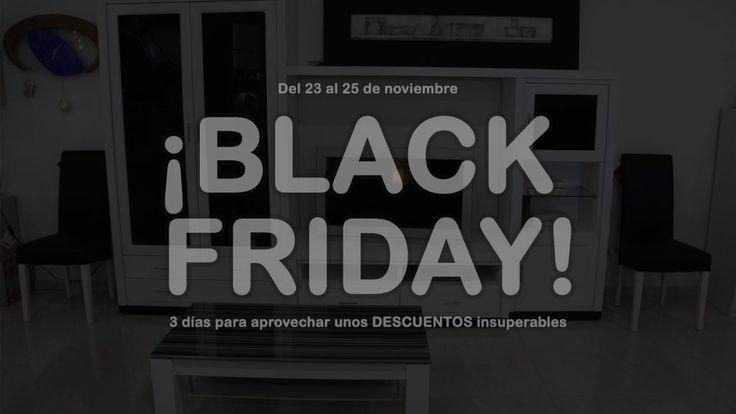 #Muebles baratos en el #BlackFriday - Muebles CASANOVA