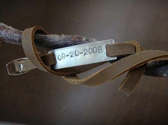 Date spéciale réglable cuir longue Ultra Wrap par PorterandHazel
