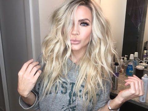 Beach Waves, Mermaid hair tutorial | Victoria Secret Hair - YouTube