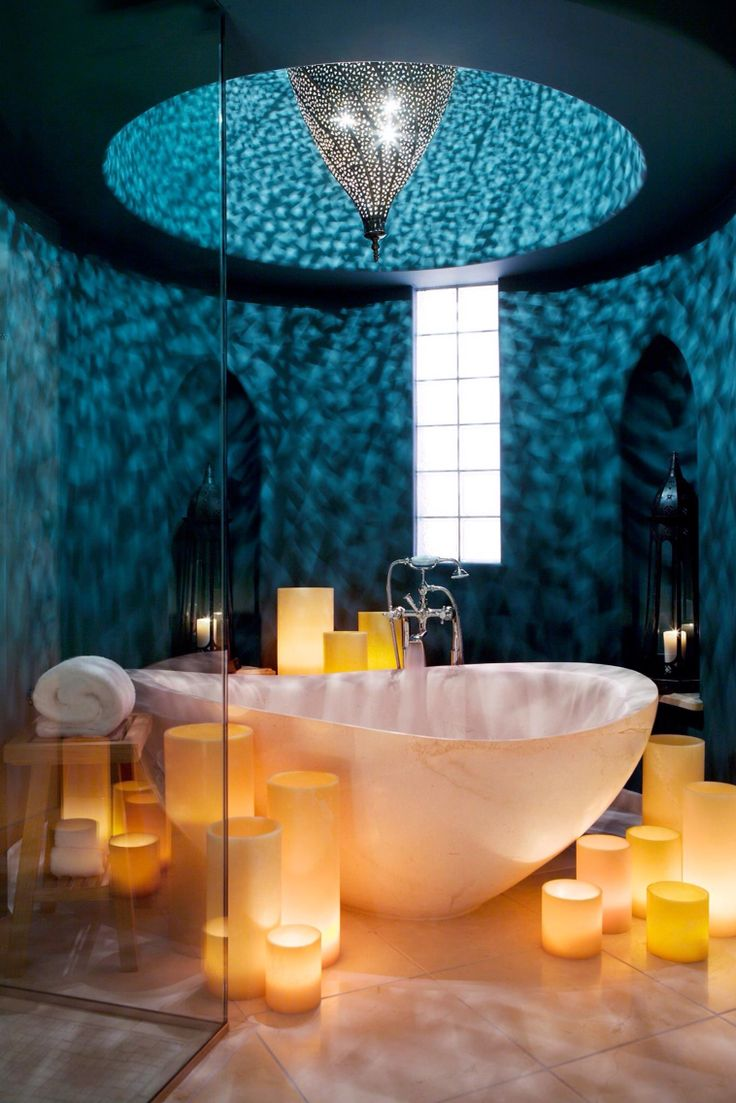 73 best my future house images on pinterest for Romantic master bathroom