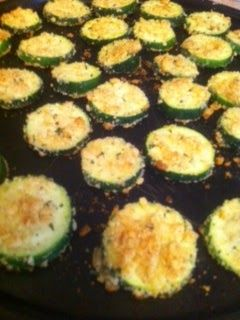 Battling the Home Front: Oven Baked Zucchini Chips