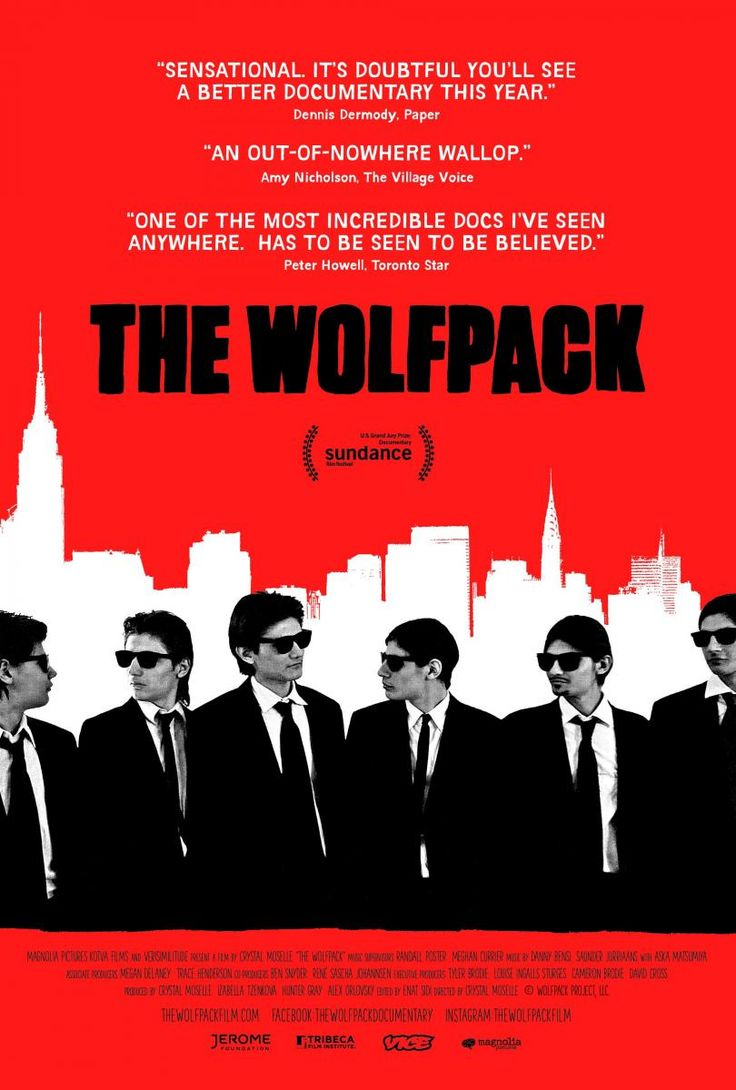 Cinelodeon.com: The Wolfpack (Manada de lobos). Crystal Moselle