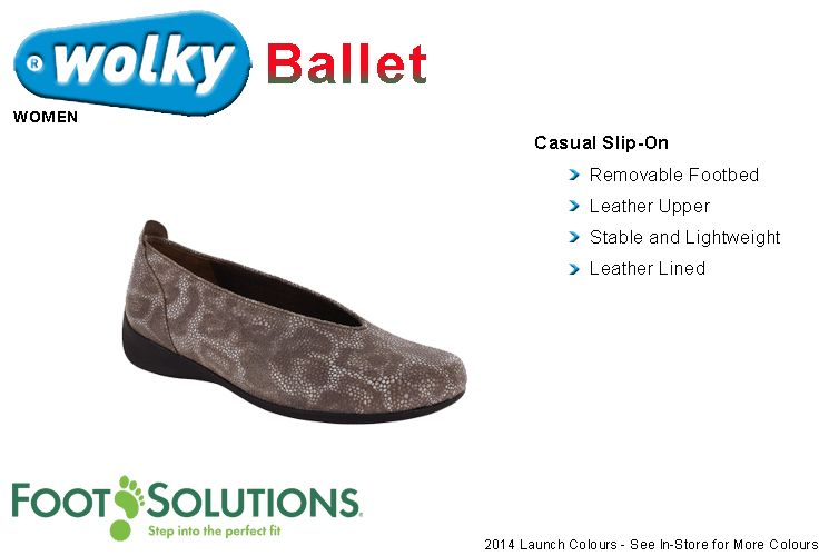 Wolky Ballet - Women // Spring 2014