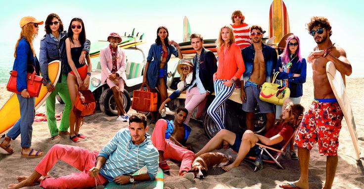 The Hilfiger Beach Club #tommyhilfiger #TheHilfigers #Spring2014