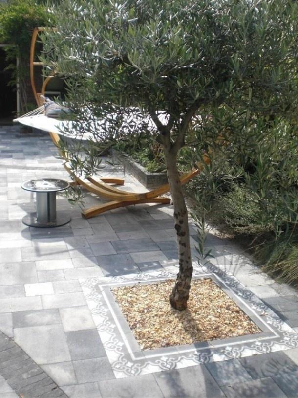 modern lounge garden/tuin