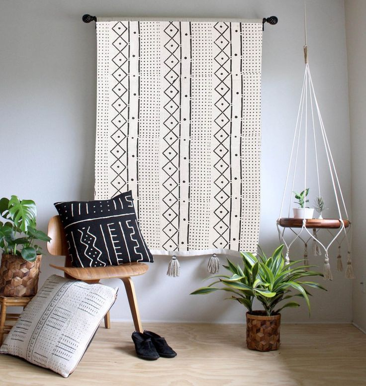 Large Mud Cloth Wall Hanging